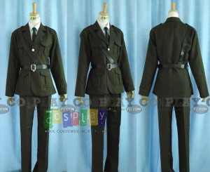 Arthur United Kingdom Costume from Axis Power Hetalia