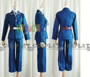 Gilbert Prussia Costume from Axis Powers Hetalia
