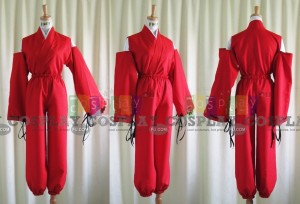Inu Yasha Cosplay Costume from Inuyasha