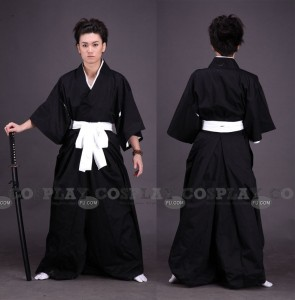 Shinigami Cosplay (Kimono-6-161) from Bleach