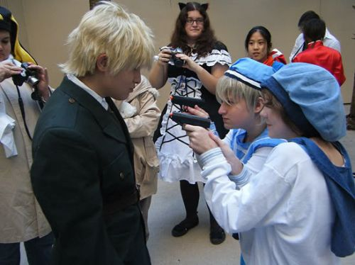 Hetalia: Axis Powers Sealand Cosplay