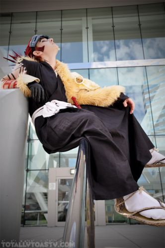 Bleach Renji Abarai Cosplay Fotos