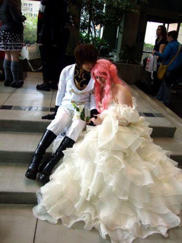 Code Geass: Lelouch of the Rebellion Euphemia Li Britannia Cosplay