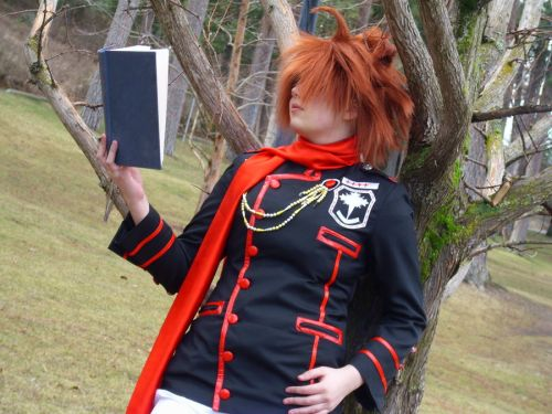 D. Gray-Man Lavi Bookman Photos Cosplay
