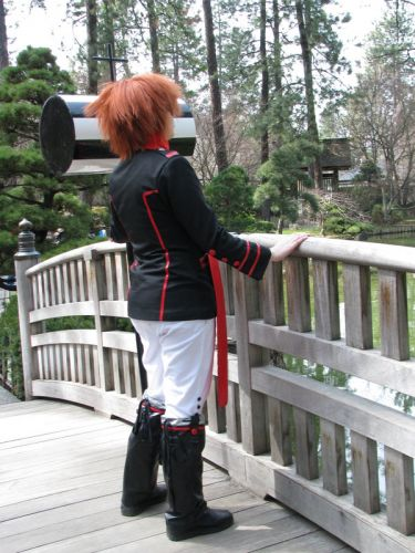 D. Gray-Man Lavi Bookman Cosplay