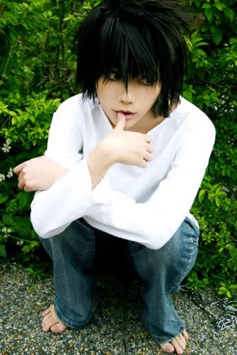 Death Note L Lawliet Foto Cosplay