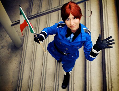 Axis Power Hetalia Feliciano Vargas (North Italy) Cosplay