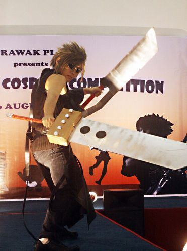Final Fantasy Cloud Cosplay