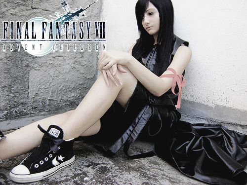 Final Fantasy Tifa Lockhart Foto Cosplay
