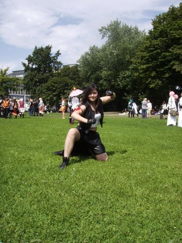 Final Fantasy Tifa Lockheart Cosplay Fotos