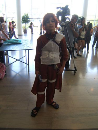 Gaara cosplay