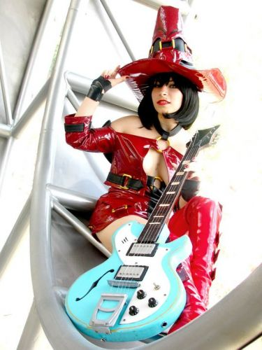 Guilty Gear I-No Fotos Cosplay