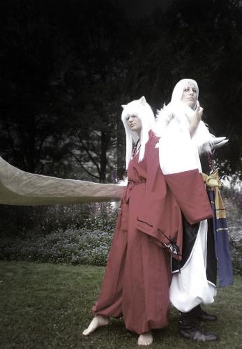 Inu-Yasha Sesshomaru & Inuyasha Photos Cosplay