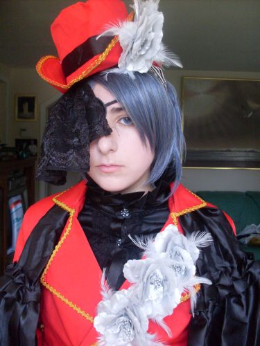 Personnages de Black Butler Ciel Phantomhive Photos Cosplay