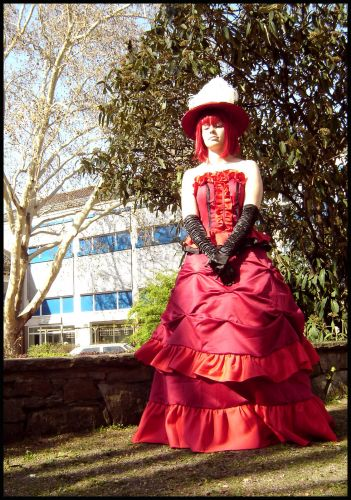 Personnages de Black Butler Madam Red Cosplay
