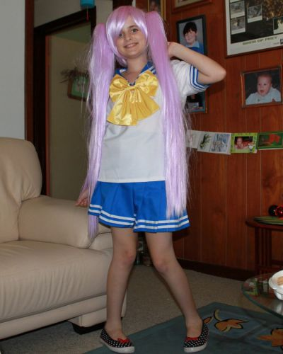 Lucky Star Kagami Photos Cosplay