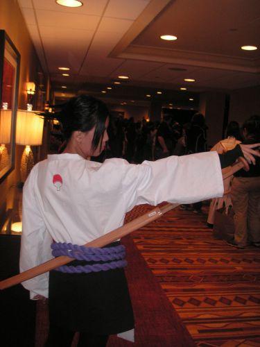 Naruto Shippuuden Sasuke Uchiha Cosplay Fotos