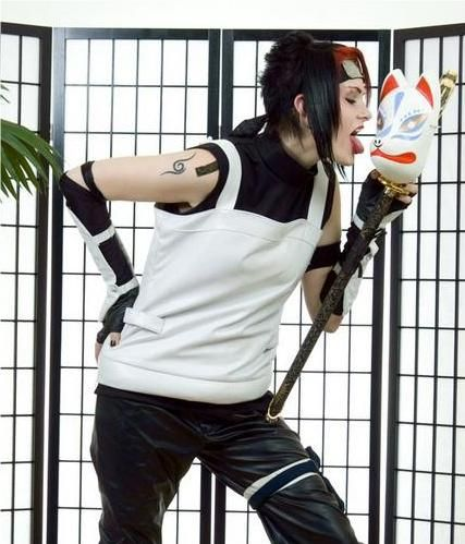 NARUTO Anbu Black ops Photos Cosplay