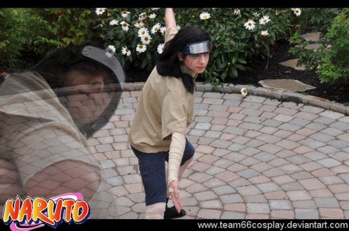 NARUTO Neji Fotos Cosplay