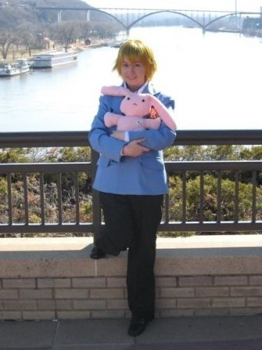Ouran High School Host Club Haninozuka Mitsukuni Cosplay Fotos