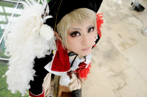 Axis Power Hetalia Prussia Cosplay