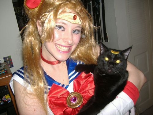 Sailor Moon Sailor Moon with Luna Foto Cosplay