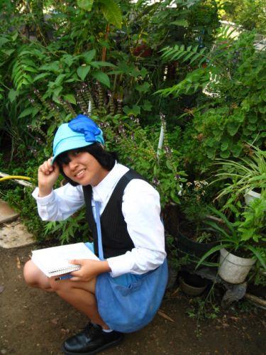 Shugo Chara Miki-amulet spade Foto Cosplay