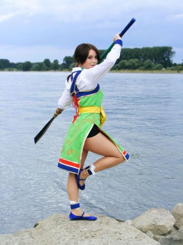 Soul Calibur 2 Seung Mina Cosplay Fotos