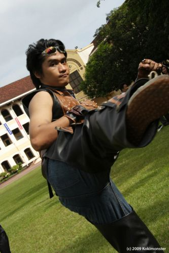 Tekken 6 Hwoarang Photos Cosplay