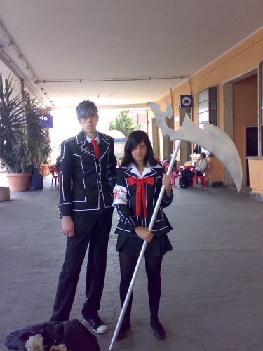 Vampire Knight Yuuki and Zero Foto Cosplay