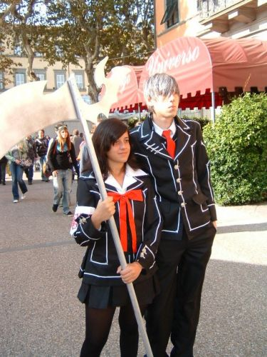Vampire Knight Yuuki and Zero Fotos Cosplay