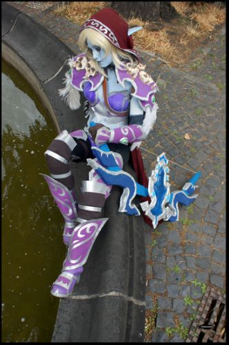 World of Warcraft Lady Sylvanas Windrunner Foto Cosplay