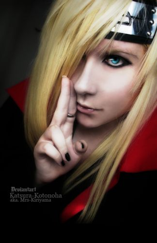 akastuki Deidara Photos Cosplay