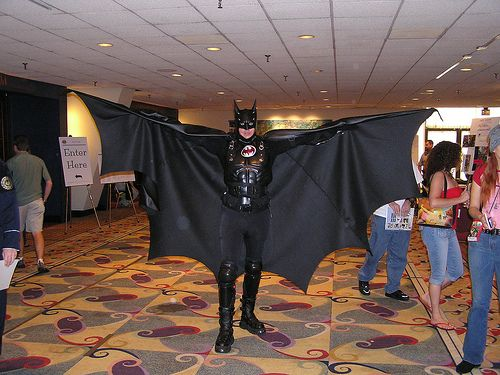 Batman Batwoman Cosplay