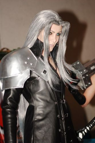 final fantasy VII Sephiroth Cosplay Fotos