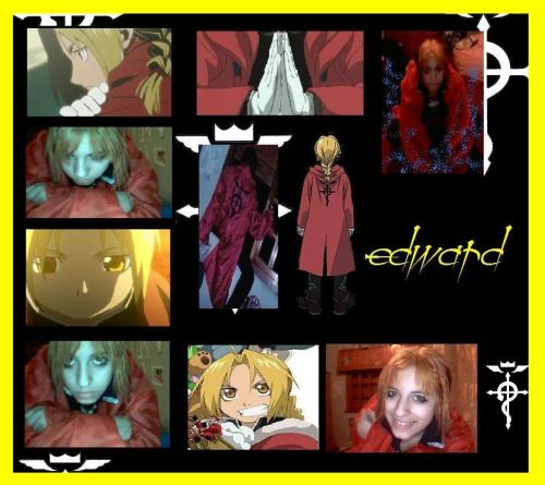 full metal alchemist Edward Fotos Cosplay