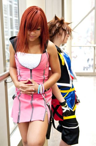 Kingdom Hearts Kairi Cosplay Fotos
